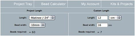 BIG BEAD LITTLE BEAD | Bead Size Guide & Bead Size Chart