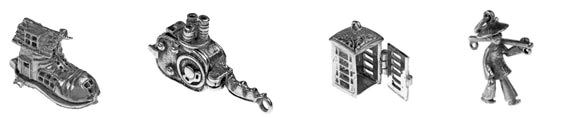 History Jewellery Charms Sterling Silver Charms