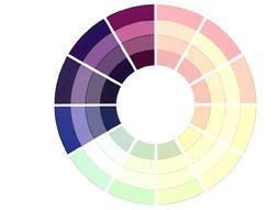 Amazing Big Bead Little Guide To Using Colour Theory U The With Neutral Color Wheel Chart