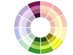 Theory Of Colour - Analogous Complementary Color Scheme