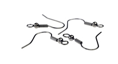 Jewellery Findings - Fish Hook Earrings, Fish Hook Earwires