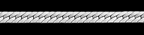 Jewellery Chain Glossary - Herringbone Chain
