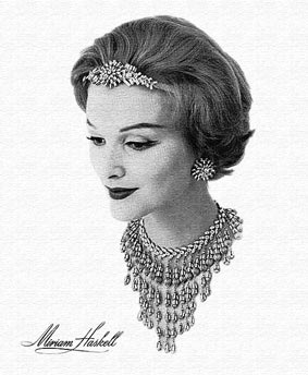 History of Miriam Haskell - Costume Jewellery Advertisment