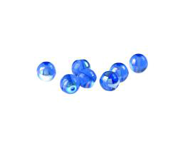 20 Czech Glass Beads Sapphire AB Druk Bead 6mm