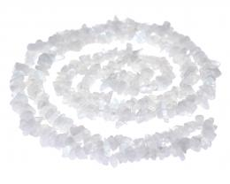 1 Gemstone Chips Moonstone 3mm to 10mm 36 Inches