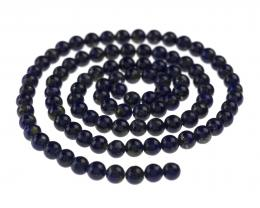 10 Gemstone Beads Lapis Lazuli Rounds 4mm