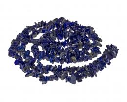1 Gemstone Chips Lapis Lazuli 5mm to 8mm 36 Inches