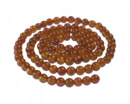 10 Gemstone Beads Carnelian Round Bead 4mm