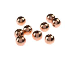 1 Metal Beads Pure Solid Copper Seamless Bead 8mm