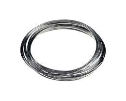 20 Memory Wire Bracelet Coils Childrens Steel 50mm