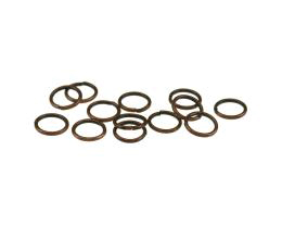 50 Jump Rings Antique Copper Open Jump Rings 8mm