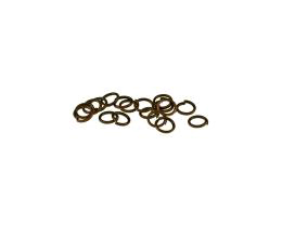 50 Jump Rings Antique Copper Open Jump Ring 5mm