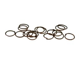 50 Jump Rings Antique Copper Open Jump Rings 9mm