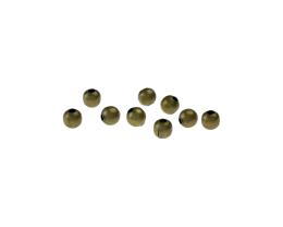 25 Metal Beads Bronze Spacer Bead 4mm