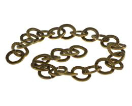 1m Bronze Cable Chain Antique Gold Chains 10mm