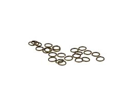 50 Jump Rings Bronze Open Jump Ring 5mm