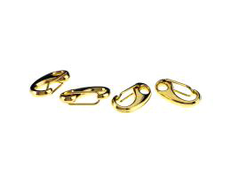 1 Lobster Clasps Gold Plated Trigger Clasp 16mm