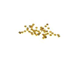 2g Crimp Beads Gold Plated Crimping Bead 2mm