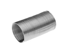 45 Memory Wire Coils For Ring Making Silver Colour