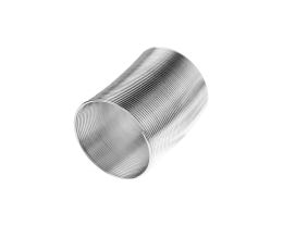 45 Memory Wire Coils Ring Making Silver 20mm