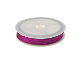 1 Tiger Tail Beading Wires Hot Pink 0.38mm