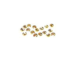 20 Crimp Bead Covers Gold Plated Crimp Cover 3mm