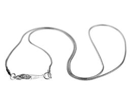 1 Necklace Chains Silver Snake Chain 45cm