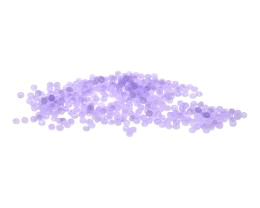 10g Preciosa Czech Glass Seed Beads Lavender 11-0