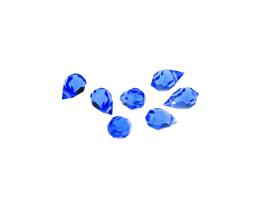 1 Preciosa Crystal Beads Sapphire Drop Bead 10mm