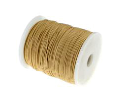 1m Waxed Cotton Cord Natural Wax Cords Braided 1mm