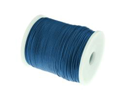 1m Waxed Cotton Cord Teal Blue Wax Cords 1mm