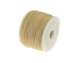 1m Waxed Cotton Cord Natural Wax Cords 0.5mm