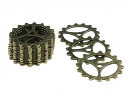1 Sprocket Embellishments Watch Parts Bronze 22mm