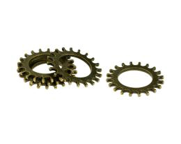 5 Cog Embellishments Watch Part Bronze Finish 22mm