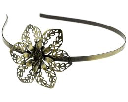 1 Tiara Headbands Bronze Filigree Alice Bands