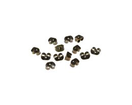 20 Earring Backs Bronze Ear Nuts Butterfly 4mm