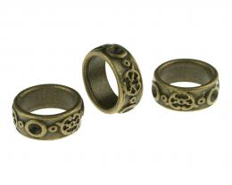 1 Ring Embellishments Bronze Finish Metal 20mm
