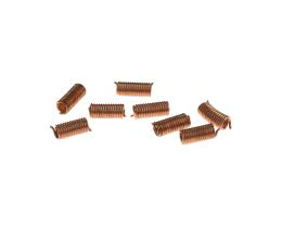 10 Vintage Metal Beads Copper Wire Springs 9mm