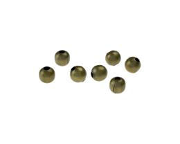 25 Metal Beads Bronze Spacer Bead 6mm