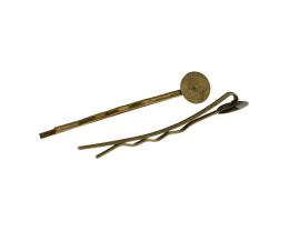 5 Kirby Hairpin Grips Bronze Bobby Pins 42mm