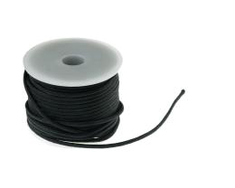 1m Waxed Cotton Cord Black Wax Cords Braided 2mm