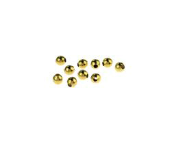 10 Vintage Metal Beads Solid Brass Bead 3.8mm