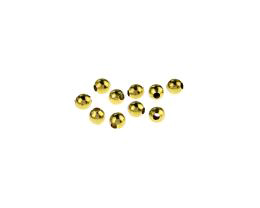 10 Vintage Metal Beads Brass Round Bead 3mm