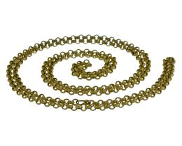 1m Brass Rolo Chain Open Solid Brass Chains 4mm