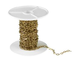 1m Brass Cable Chain Solid Brass Chains 3.2mm