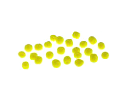10g Chinese Glass Seed Beads Yellow Opaque Size 6-0