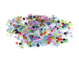 50g Glass Seed Beads Frosted Mixed Beads Size 6-0
