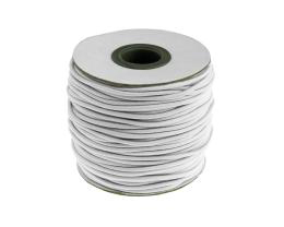 1m Elastic Shock Cords White Beading Cords 2mm
