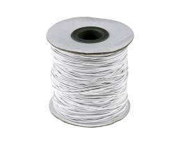 1m Elastic Shock Cord White Beading Cords 1mm