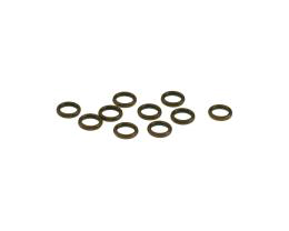 10 Jump Rings Antique Copper Closed Jumprings 6mm